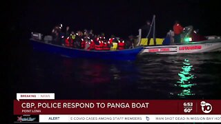 Panga boat spotted off Point Loma