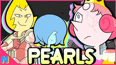 Every Pearl & Their Symbolism Explained!   Steven Universe