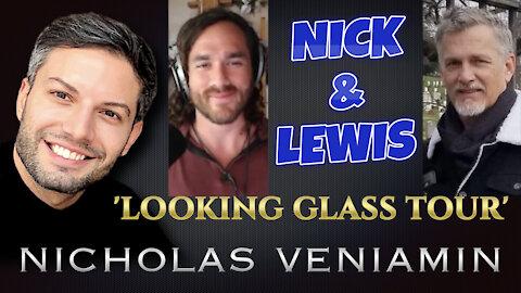 Nick Alvear & Lewis Herms Discusses 'Looking Glass Tour' with Nicholas Veniamin