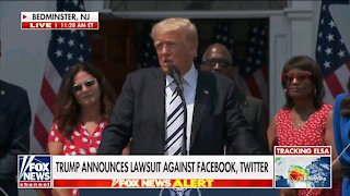Trump announces lawsuit against Facebook, Twitter
