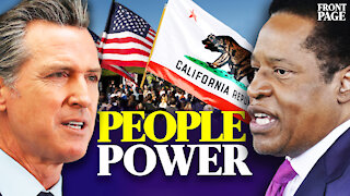 Newsom recall election is a testament to the power of the people   Front Page with Scott Goulet
