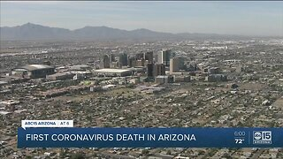 First coronavirus-related death reported in Maricopa County