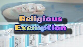 Religious Exemption + Addendum