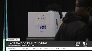 Last day of early voting