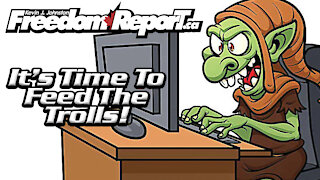 Kevin J. Johnston Feeds The Trolls!