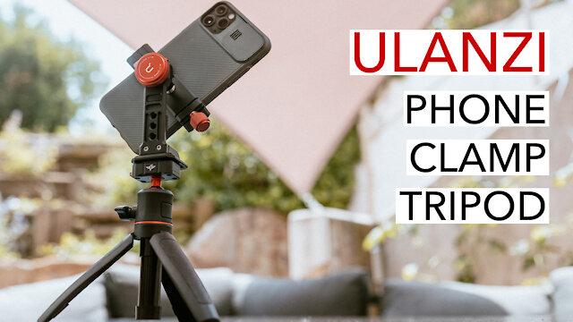 ULANZI smartphone clamp with mini tripod | most versatile smartphone adapter [4K]