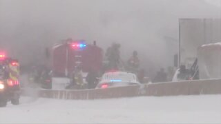 Turner Turnpike Multi-Vehicle Accident
