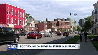 Body found inside Niagara Street apartment