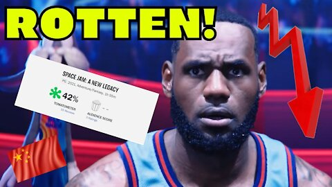 Space Jam A New Legacy gets DESTROYED on ROTTEN TOMATOES by CRITICS! Lebron James RUINS Looney Tunes