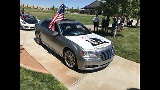 Car parade to help veterans