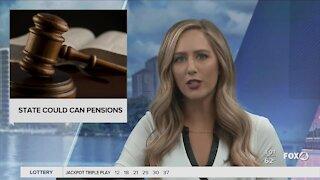 State pension plan may end
