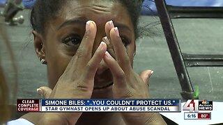 'You literally had one job and you couldn't protect us:' Simone Biles talks USA Gymnastics