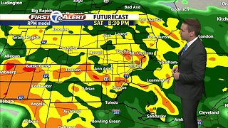 Metro Detroit Forecast: Wet and windy weekend