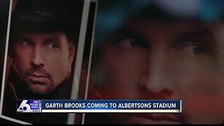 Garth Brooks coming to Albertsons Stadium