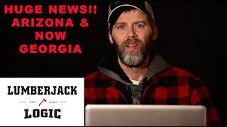 ARIZONA AND NOW GEORGIA!! Full forensic audits. Maricopa County and Georgia scanning the ballots.