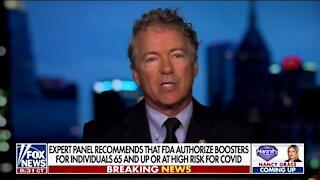 Rand Paul: COVID Antibody Distribution Is Socialism Vs Capitalism