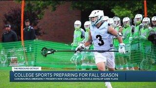 College sports preparing for fall season