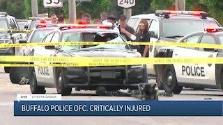 Buffalo police officer critically injured