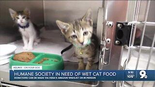 HSSA needs cat food
