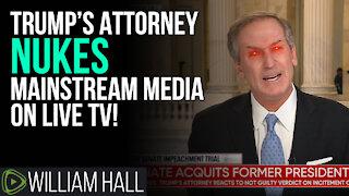 Trump's Attorney NUKES Mainstream Media On LIVE TV