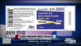 Blood Pressure Medication Recall: Irbesartan