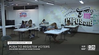 Push to register voters in Arizona