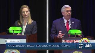 MO gubernatorial candidates debate COVID-19, economy, crime