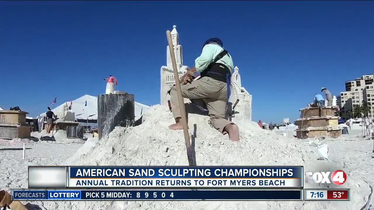 33rd Annual American Sand Sculpting Championship returns to SWFL