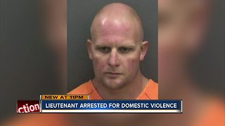 Hillsborough County Fire Rescue Lieutenant arrested for domestic battery by strangulation