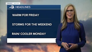Thursday evening forecast: holiday outlook