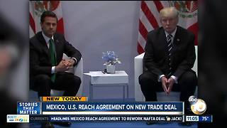 Mexico, U.S. reach agreement on new trade deal