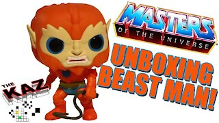 Beast Man Masters of the Universe Funko Pop Unboxing