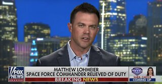 Space Force Commander SPEAKS OUT After Being Relieved From Duty After NUKING Critical Race Theory