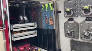 Appleton Fire Department newest engine