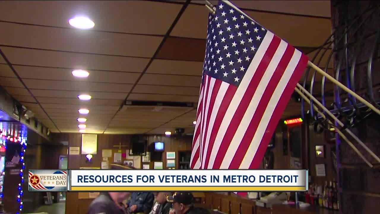 Resources for veterans in metro Detroit