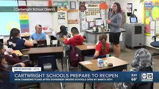 Cartwright School District getting ready to welcome students back