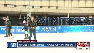 Tulsa's Winterfest opens for 11th year
