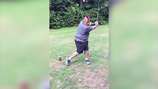 Man has Epic Golf Fail