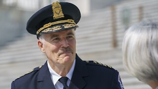 J. Thomas Manger Takes Command As New Capitol Police Chief