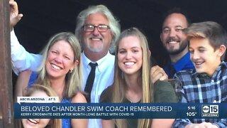 Beloved Chandler swim coach dies after battle with COVID-19