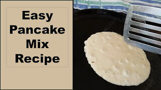 Easy Homemade Pancake Mix Recipe for Your Prepper Pantry