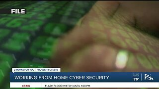 The Rebound Green Country: Working from home cyber security