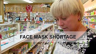 Face mask shortage: What should you do?