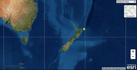 DEVELOPING STORY: 7.3 New Zealand Earthquake with Tsunami Threat