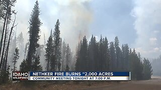 Nethker Fire burns over 2,000 acres, now 27 percent contained