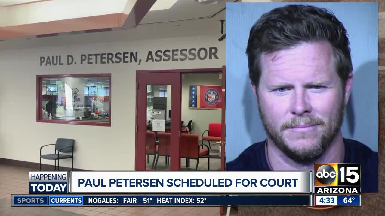 Paul Petersen scheduled for court Tuesday
