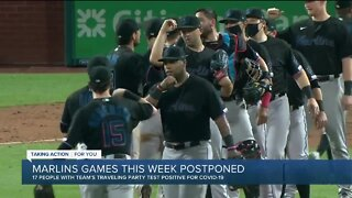 Rob Manfred talks about Marlins spike in COVID-19 cases