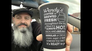 7. Wendy's Coffee Review For Breakfast