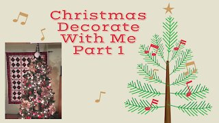 Christmas Decorate With Me ~Part 1~