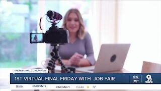 First virtual final Friday with job fair